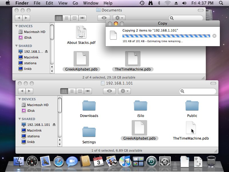 How to transfer files to